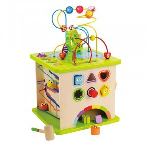 Hape Activiteitenkubus 'Country Critters'