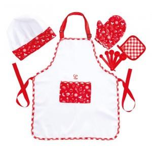 Hape Keuken Chef-kok Verkleedset en accessoires