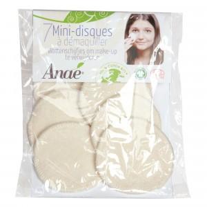 Anaé Wasbare Mini Wattenschijfjes (7-pack)