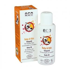 Eco Cosmetics Baby Olie met granaatappel en duindoorn 100ml