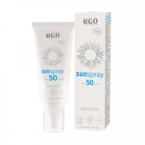Eco Cosmetics Zonnespray Sensitive SPF50 100ml