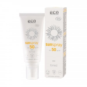 Eco Cosmetics Zonnespray getint SPF50 100ml