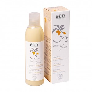 Eco Cosmetics Body Lotion met duindoorn en perzik 200 ml