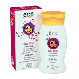 Eco Cosmetics Baby Badschuim met granaatappel en duindoorn 200ml