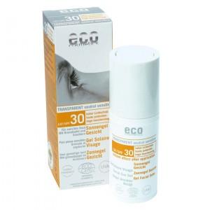 Eco Cosmetics Zonnegel voor het gezicht SPF 30  30ml