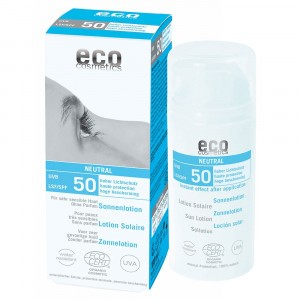 Eco Cosmetics Zonnelotion SPF50 (parfumvrij) 100ml