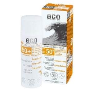 Tweede Kans product - Eco Cosmetics Zonnecrème SPF 50 Surf & Fun Getint 50ml