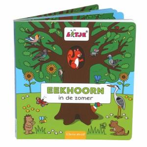 Clavis Zoek- en Leesboekje Eekhoorn in de zomer