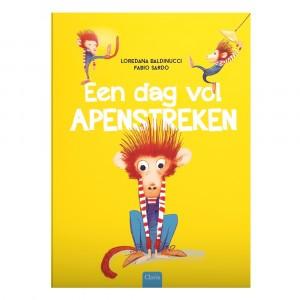 Clavis Leesboekje Een dag vol apenstreken