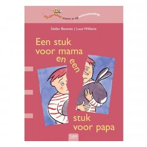 Clavis 'Bijdehand' Informatief Leesboek Een stuk voor mama en een stuk voor papa