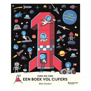 Oogappel Interactief Boek - Zoek-en-vind; een boek vol cijfers
