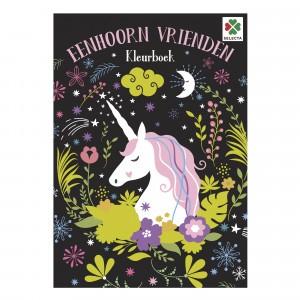 Selecta Kleurboek Eenhoorn Vrienden