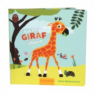 Clavis Leesboekje Eet kleine giraf alleen?