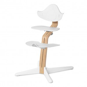 Nomi Highchair White / White Oiled