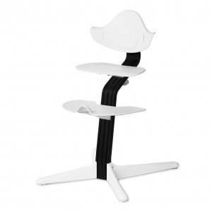 Nomi Highchair White / Black