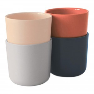 Ekobo Bekerset mix: Blush, Cloud, Storm, Terracotta