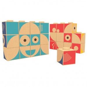 Elou Puzzel Blokken (12 stuks)