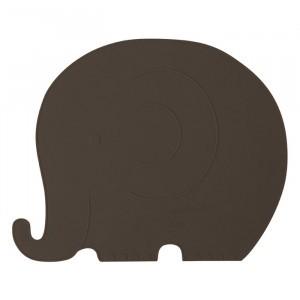 Oyoy Placemat Henry Elephant Choko