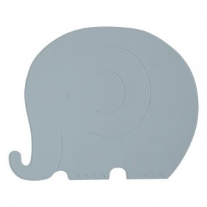 Oyoy Placemat Henry Elephant Pale Blue