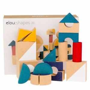 Elou Vormen Blokken (36 stuks)