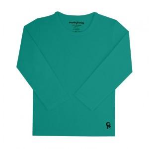 Mambotango T-shirt lange mouwen Emerald Groen
