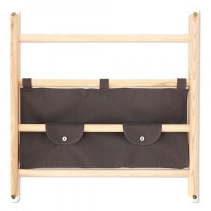Kaos Endeløs Canvas Shelf Dark Grey