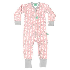 Ergopouch Layers 1.0 tog Onesie Spring Leaves