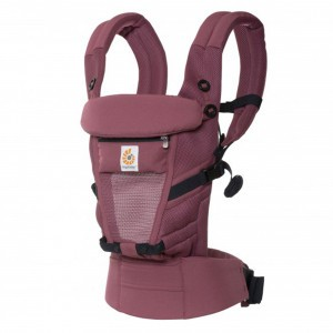 Ergobaby Babydraagzak 3P Adapt Cool Air Mesh Plum