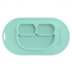 EcoViking Silicone Bordje Mint Green