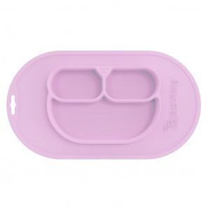 EcoViking Silicone Bordje Pink Lavender