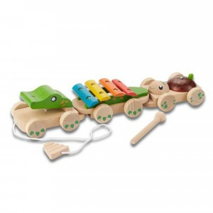 EverEarth Trekspeeltje Muzikale Krokodil