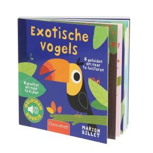 Marion Billet Geluidenboekje Exotische Vogels