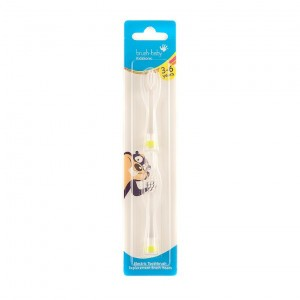 Brush Baby KidzSonic Tandenborstelkopjes 3-6Y