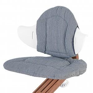 Nomi Kussen Denim Striped