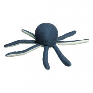 Fabelab Zachte Rammelaar Octopus Blauw