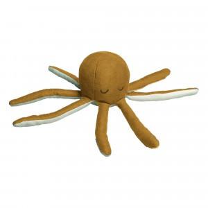 Fabelab Zachte Rammelaar Octopus Oker