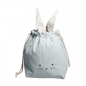 Fabelab Opbergzak Small Cat Foggy Blue