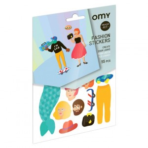 OMY Stickers - Fashion