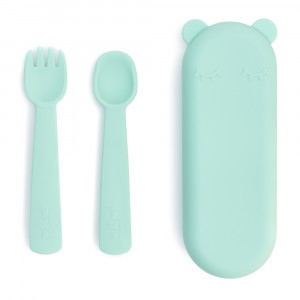 We Might Be Tiny Feedie Vork & Lepel Minty Green