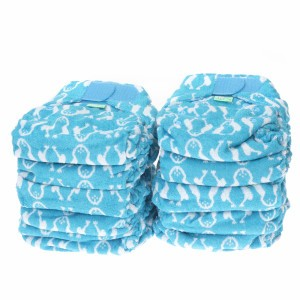 Voordeelpakket Totsbots Bamboozle Stretch Nappy Feet maat 2 (10 stuks)