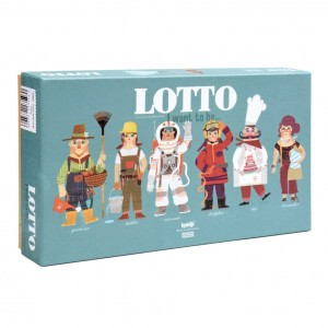 Londji Lotto Spel 'I want to be'