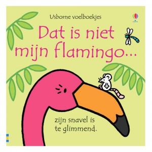 Usborne Voelboekje Dat is niet mijn flamingo