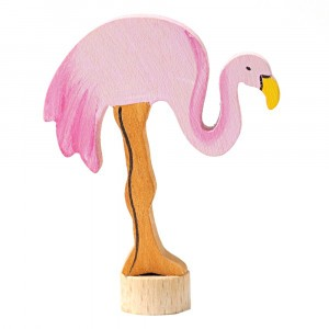 Grimm's Decoratief Figuur Flamingo