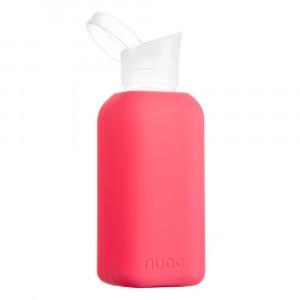 Nuoc Glazen Drinkfles Flamingo Fuchsia (500 ml)