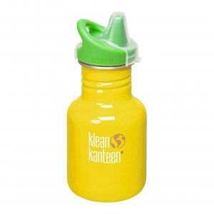 Klean Kanteen Drinkfles Kind met drinktuit 354ml School bus