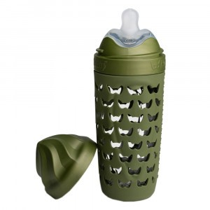 Herobility Eco Baby Fles Forest Green (320 ml)