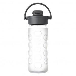 Lifefactory Glazen Drinkfles 650ml Flip Cap Transparant