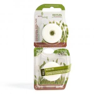 Ecoliving Ecofloss - vegan plantaardige tandzijde (2-pack)