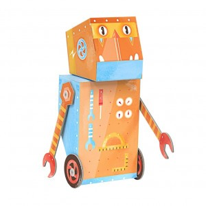Krooom Fold my Handyman Robot