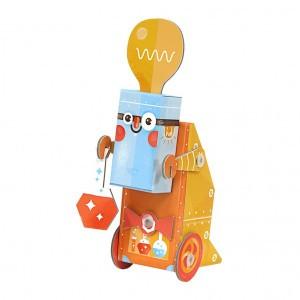Krooom Fold my Scientist Robot